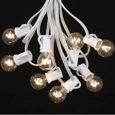 Globe String Lights Rentals : Blog- 440 Seaton Wedding